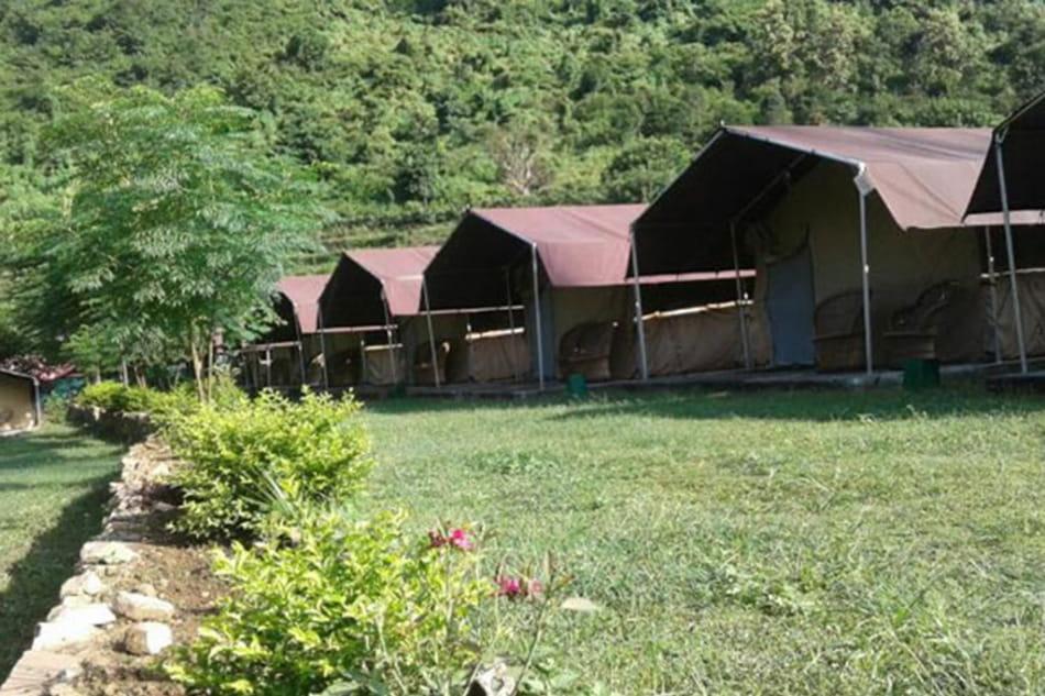 Camping in Byasi, Rishikesh